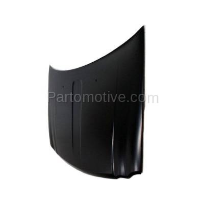 Aftermarket Replacement - HDD-1112 2005-2010 Jeep Grand Cherokee (Laredo, Limited, Overland, North, S Limited, SRT8) V6/V8 Front Hood Panel Assembly Primed Steel - Image 2