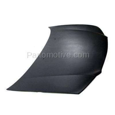 Aftermarket Replacement - HDD-1087 1996-2000 Chrysler Sebring (JX, JXi) Convertible 2-Door Front Hood Panel Assembly Primed Steel - Image 2