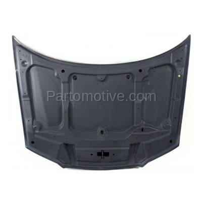 Aftermarket Replacement - HDD-1087 1996-2000 Chrysler Sebring (JX, JXi) Convertible 2-Door Front Hood Panel Assembly Primed Steel - Image 3