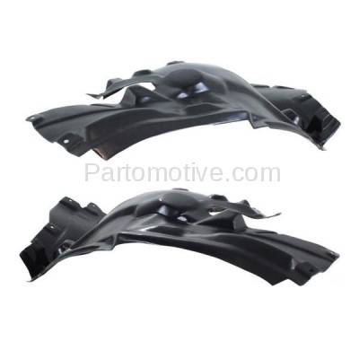 Aftermarket Replacement - IFD-1074L & IFD-1074R 11-16 5-Series Front Splash Shield Inner Fender Liner Panel Left Right SET PAIR - Image 2