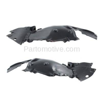 Aftermarket Replacement - IFD-1074L & IFD-1074R 11-16 5-Series Front Splash Shield Inner Fender Liner Panel Left Right SET PAIR - Image 3