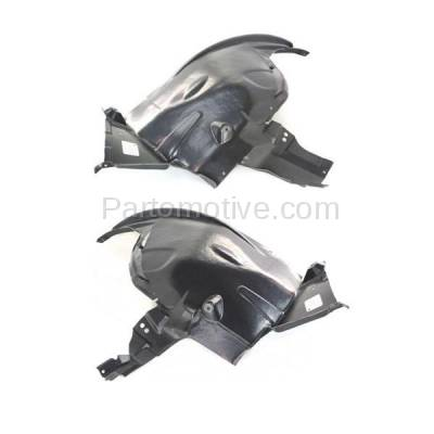 Aftermarket Replacement - IFD-1084L & IFD-1084R 07-13 X5 Front Splash Shield Inner Fender Liner Panel Left & Right Side SET PAIR - Image 2
