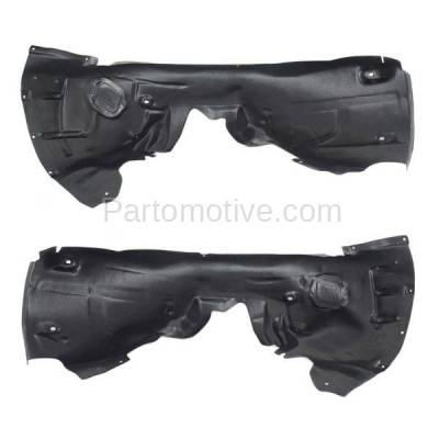 Aftermarket Replacement - IFD-1031L & IFD-1031R 12-17 A6 Front Splash Shield Inner Fender Liner Panel Left & Right Side SET PAIR - Image 3