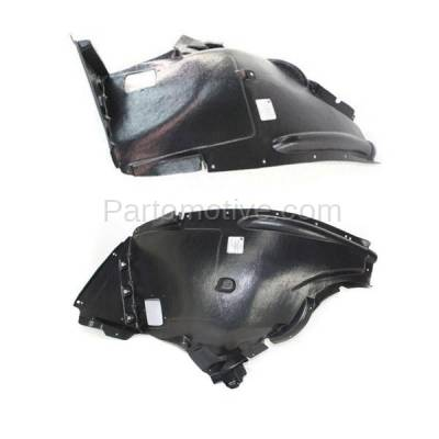 Aftermarket Replacement - IFD-1085L & IFD-1085R 07-08 X5 Front Splash Shield Inner Fender Liner Panel Left & Right Side SET PAIR - Image 2