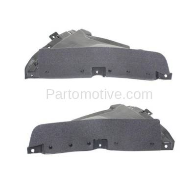 Aftermarket Replacement - IFD-1058L & IFD-1058R 10-17 5-Series Front Splash Shield Inner Fender Liner Panel Left Right SET PAIR - Image 3