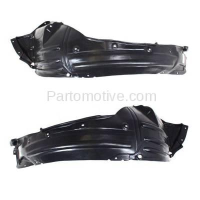 Aftermarket Replacement - IFD-1011L & IFD-1011R 07-13 MDX Front Splash Shield Inner Fender Liner Panel Left Right Side SET PAIR - Image 3