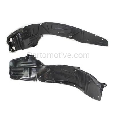 Aftermarket Replacement - IFD-1014L & IFD-1014R 05-06 RSX Front Splash Shield Inner Fender Liner Panel Left Right Side SET PAIR - Image 2