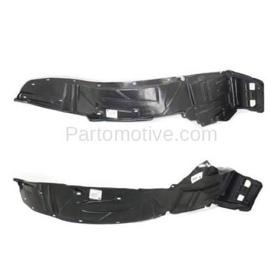 Aftermarket Replacement - IFD-1014L & IFD-1014R 05-06 RSX Front Splash Shield Inner Fender Liner Panel Left Right Side SET PAIR - Image 3