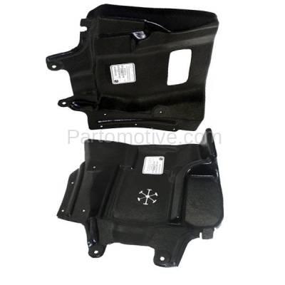 Aftermarket Replacement - ESS-1495L & ESS-1495R 03-06 Outlander Front Engine Splash Shield Under Cover Guard Left Right SET PAIR - Image 2