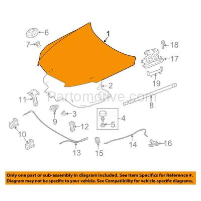 Aftermarket Replacement - HDD-1781 2010-2017 Mercedes-Benz E-Class E350/E400/E550 (4Matic & Base) (3.0 & 3.5 & 4.6 & 5.5 Liter) Front Hood Panel Assembly Primed Aluminum - Image 3