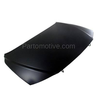 Aftermarket Replacement - HDD-1767 2000-2006 Volvo S80 (2.5T, 2.5T AWD, 2.9, T6, T6 Premier) Sedan 4-Door (2.5 & 2.9 Liter Engine) Front Hood Panel Assembly Primed Steel - Image 2