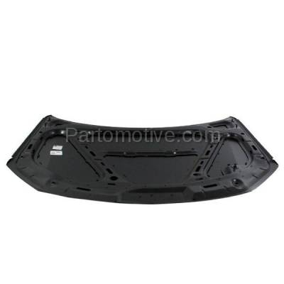 Aftermarket Replacement - HDD-1745 2005-2006 Volkswagen Golf (GL, GLS, GLS TDI, GTI 1.8T, GTI VR6, TDI) Hatchback (A5, 5th Generation) Front Hood Panel Assembly Primed Steel - Image 3