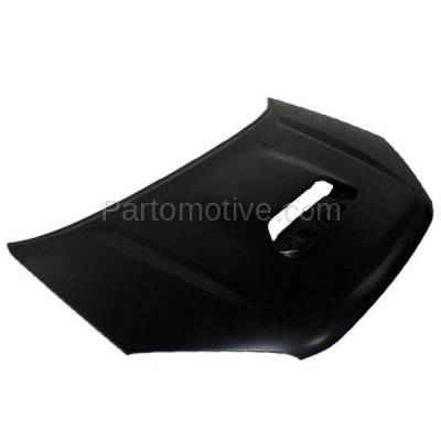 Aftermarket Replacement - HDD-1684 2001-2005 Toyota RAV4 RAV-4 (Base & L) Sport Utility 4-Door (2.0 & 2.4 Liter Engine) (with Scoop Type) Front Hood Panel Assembly Primed Steel - Image 2