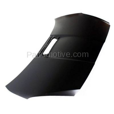Aftermarket Replacement - HDD-1689 2000-2005 Toyota Celica (GT, GTS) Hatchback 2-Door (1.8 Liter Engine) Front Hood Panel Assembly Primed Steel with Scoop Provision - Image 2