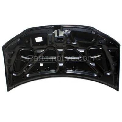 Aftermarket Replacement - HDD-1673 1998-2007 Toyota Land Cruiser (4.7 Liter V8 Engine) (Sport Utility 4-Door) Front Hood Panel Assembly Primed Steel - Image 3