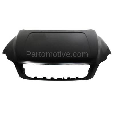Aftermarket Replacement - HDD-1730 2003-2014 Volvo XC90 (2.5T, 3.2, Base, Luxury, R-Design, T6, Premier, V8) Sport Utility 4-Door Front Hood Panel Assembly Primed Steel - Image 1