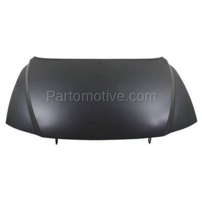 Aftermarket Replacement - HDD-1731 2000-2006 Volvo S80 (2.5T, 2.5T AWD, 2.9, T6, T6 Premier) Sedan 4-Door (2.5 & 2.9 Liter Engine) Front Hood Panel Assembly Primed Aluminum - Image 1