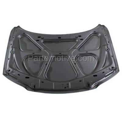 Aftermarket Replacement - HDD-1731 2000-2006 Volvo S80 (2.5T, 2.5T AWD, 2.9, T6, T6 Premier) Sedan 4-Door (2.5 & 2.9 Liter Engine) Front Hood Panel Assembly Primed Aluminum - Image 3