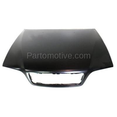Aftermarket Replacement - HDD-1726 1998-2004 Volvo C70, V70 & 1998-2000 S70 (2.4T, 2.5T, AWD, Base, GLT, R, T5, X/C) Front Hood Panel Assembly Primed Steel - Image 1