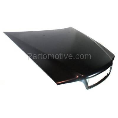 Aftermarket Replacement - HDD-1726 1998-2004 Volvo C70, V70 & 1998-2000 S70 (2.4T, 2.5T, AWD, Base, GLT, R, T5, X/C) Front Hood Panel Assembly Primed Steel - Image 2