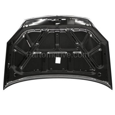 Aftermarket Replacement - HDD-1650 2002-2007 Suzuki Aerio (Base, GL, GLS, GS, LX, Premium, S, SX, SX Premium) (Sedan & Wagon) Front Hood Panel Assembly Primed Steel - Image 3
