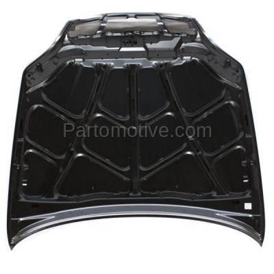 Aftermarket Replacement - HDD-1651 2004-2006 Suzuki Verona (Base, EX, Luxury, LX, S) 2.5 Liter V6 Engine (Sedan 4-Door) Front Hood Panel Assembly Primed Steel - Image 3