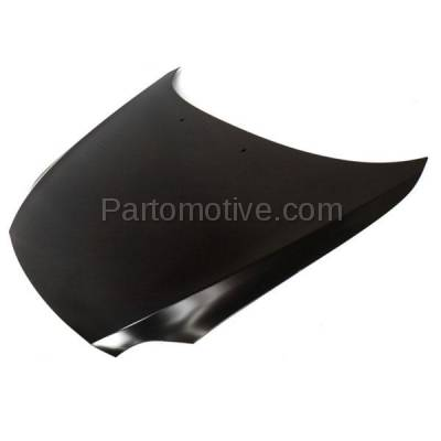 Aftermarket Replacement - HDD-1613 2005-2010 Scion tC (Coupe 2-Door) (2.4 Liter Engine) Front Hood Panel Assembly Primed Steelwith Windshield Washer Nozzle Holes - Image 2