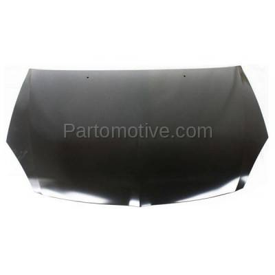 Aftermarket Replacement - HDD-1541 2004-2005 Mitsubishi Lancer (ES, LS, OZ Rally, Ralliart, Sportback) 2.0 & 2.4 Liter (Sedan & Wagon) Front Hood Panel Assembly Primed Steel - Image 1