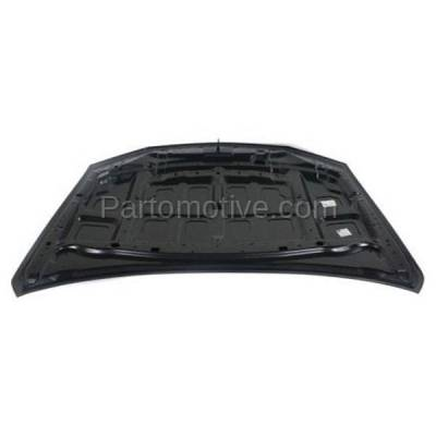 Aftermarket Replacement - HDD-1629 2008-2011 Subaru Impreza (2.5i, 2.5i Limited, 2.5i Premium, Outback, Sport) Sedan & Wagon 2.5L Front Hood Panel Assembly Primed Steel - Image 3