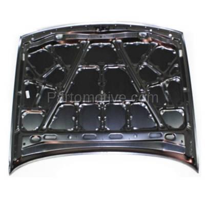 Aftermarket Replacement - HDD-1555 1993-1997 Nissan Altima (Base, GLE, GXE, SE, XE) 2.4 Liter Engine (Sedan 4-Door) Front Hood Panel Assembly Primed Steel - Image 3