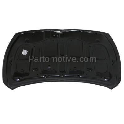 Aftermarket Replacement - HDD-1549 2014-2015 Mitsubishi Mirage (DE, ES, GLS, GLX, RF, SE) Hatchback 4-Door (1.2 Liter Engine) Front Hood Panel Assembly Primed Steel - Image 3