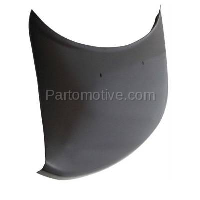 Aftermarket Replacement - HDD-1612 2004-2006 Scion xB (Wagon 4-Door) (1.5 Liter Engine) Front Hood Panel Assembly Primed Steelwith Windshield Washer Nozzle Holes - Image 2
