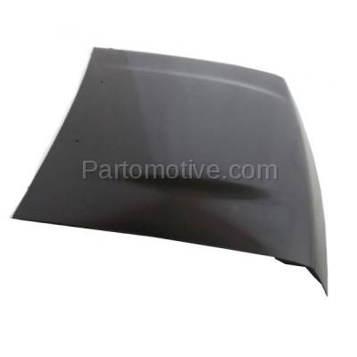 Aftermarket Replacement - HDD-1551 1993-1997 Nissan D21 Pickup Truck (Base, SE, XE) Standard & Extended Cab 2-Door (2.4 & 3.0 Liter) Front Hood Panel Assembly Primed Steel - Image 2