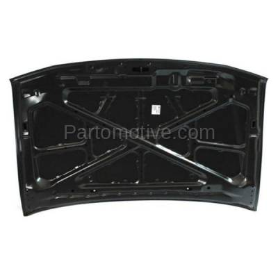Aftermarket Replacement - HDD-1538 2001-2006 Mitsubishi Montero (Limited, XLS) Sport Utility 4-Door (3.5 & 3.8 Liter V6 Engine) Front Hood Panel Assembly Primed Steel - Image 3