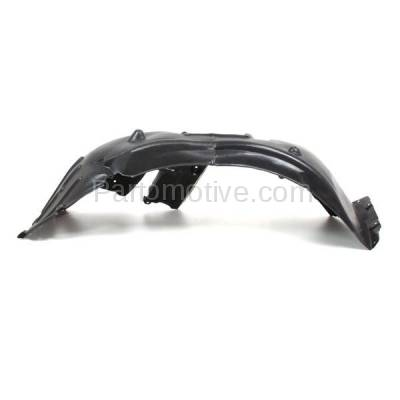 Aftermarket Replacement - IFD-1095L 08-10 5-Series Front Splash Shield Inner Fender Liner Panel Left Side BM1248103 - Image 1