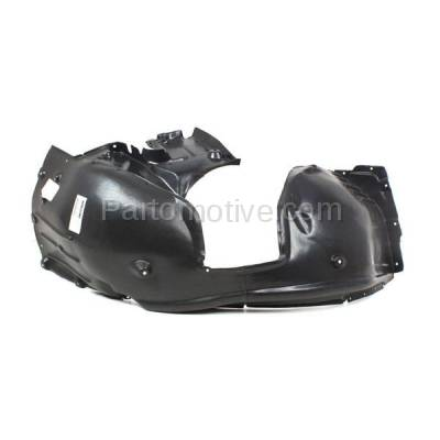 Aftermarket Replacement - IFD-1095L 08-10 5-Series Front Splash Shield Inner Fender Liner Panel Left Side BM1248103 - Image 3