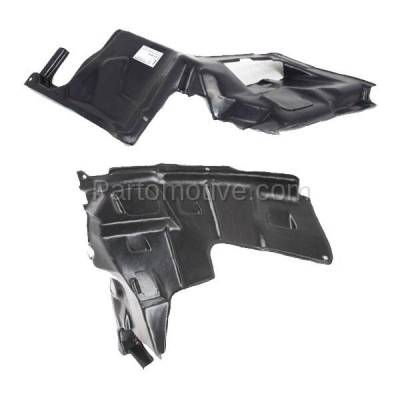Aftermarket Replacement - ESS-1430L & ESS-1430R 93-02 626 Engine Splash Shield Under Cover Undercar Guard Left & Right SET PAIR - Image 2
