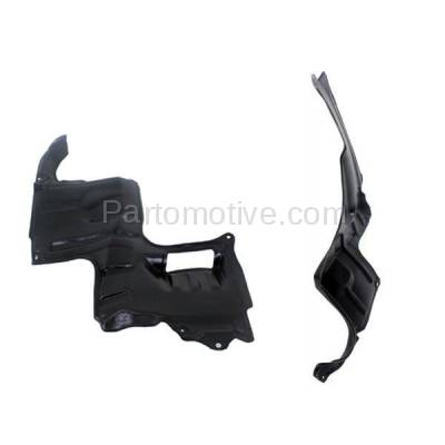 Aftermarket Replacement - ESS-1416L & ESS-1416R 00-01 MPV Front Fender Engine Splash Shield Under Cover Left Right Side SET PAIR - Image 3