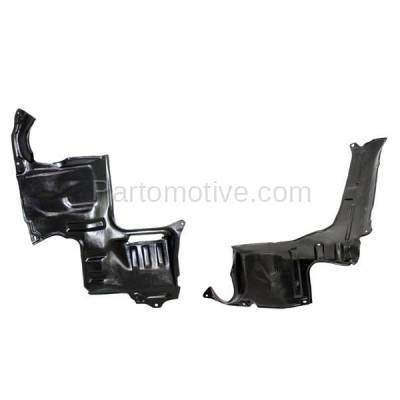 Aftermarket Replacement - ESS-1420L & ESS-1420R 02-06 MPV Van Engine Splash Shield Under Cover Undercar Left Right Side SET PAIR - Image 3