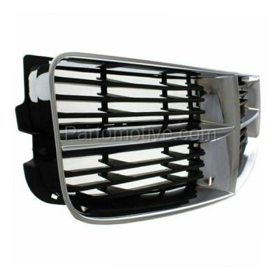 Aftermarket Replacement - GRL-1301C CAPA 06-10 Charger Front Grill Grille Chrome/Grey Shell CH1200296 4806180AD - Image 2