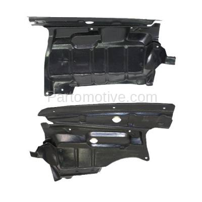 Aftermarket Replacement - ESS-1332L & ESS-1332R Front Engine Splash Shield Under Cover Guard Fits 00-01 I30 Left Right SET PAIR - Image 3