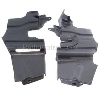 Aftermarket Replacement - ESS-1360L & ESS-1360R Front Engine Splash Shield Under Cover Fits 07 08 09 Amanti Left Right SET PAIR - Image 1