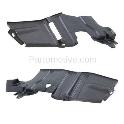 Aftermarket Replacement - ESS-1360L & ESS-1360R Front Engine Splash Shield Under Cover Fits 07 08 09 Amanti Left Right SET PAIR - Image 3