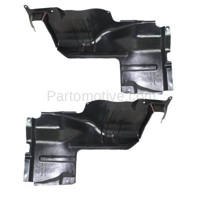 Aftermarket Replacement - ESS-1366L & ESS-1366R Engine Splash Shield Under Cover For 98-01 Sephia & 00-04 Spectra LH+RH SET PAIR - Image 2