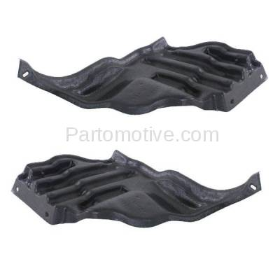 Aftermarket Replacement - ESS-1384L & ESS-1384R 95-00 LS400 Rear Engine Splash Shield Under Cover Guard Left Right Side SET PAIR - Image 3