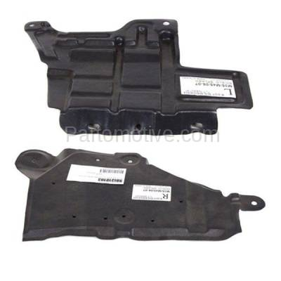 Aftermarket Replacement - ESS-1342L & ESS-1342R Engine Splash Shield Under Cover Undercar Fits 06-10 M35/M45 Left Right SET PAIR - Image 1