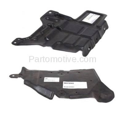 Aftermarket Replacement - ESS-1342L & ESS-1342R Engine Splash Shield Under Cover Undercar Fits 06-10 M35/M45 Left Right SET PAIR - Image 2