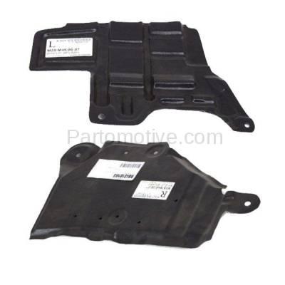 Aftermarket Replacement - ESS-1342L & ESS-1342R Engine Splash Shield Under Cover Undercar Fits 06-10 M35/M45 Left Right SET PAIR - Image 3