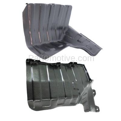 Aftermarket Replacement - ESS-1356L & ESS-1356R Engine Splash Shield Under Cover Guard Fits 10-11 Soul Left Right Side SET PAIR - Image 1