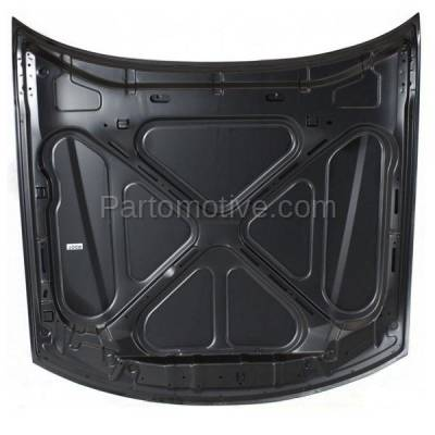 Aftermarket Replacement - HDD-1244 2000-2002 Saturn L-Series (L100, L200, L300, LW200, LW300, LS, LS1, LS2, LW1, LW2) (Sedan & Wagon 4-Door) Front Hood Panel Assembly Primed Steel - Image 3